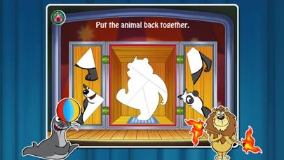 Animal Preschool! Circus- Educational app for kids screenshot two