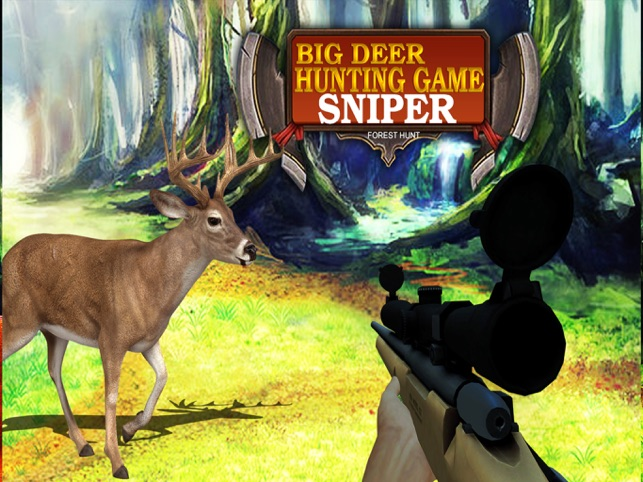 Big Deer Hunting Game : Sniper Forest Hunt Free, game for IOS