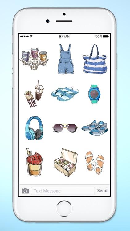 Stylish Girl Beauty and Fashion Sticker Pack 1 screenshot-3