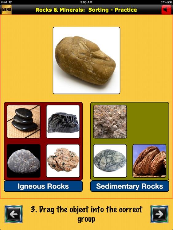 easyLearn Rocks & Minerals | Earth Science HD screenshot-3
