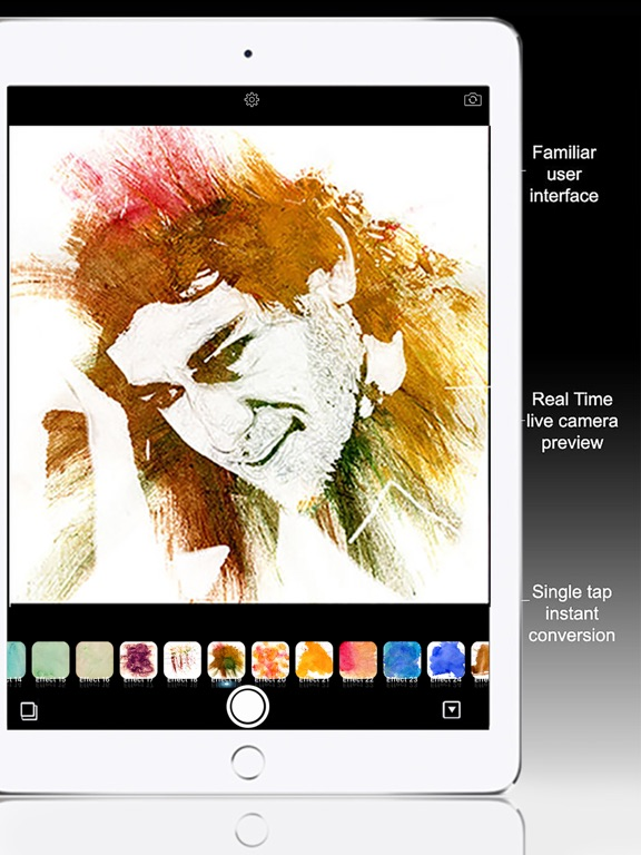 Watercolor Paint - Painting Camera for Travelogue Screenshot