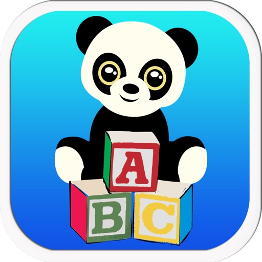 Panda Family Alphabet ABC Letter A to Z Tracing by Perachai