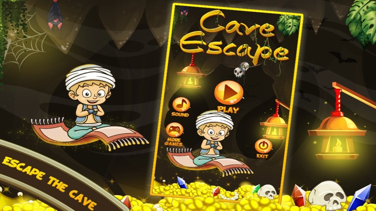 Cave Escape - One Touch Flying Game screenshot-3