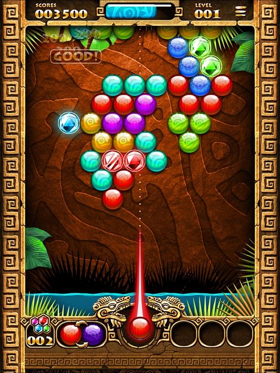 Игра Montezuma Bubble
