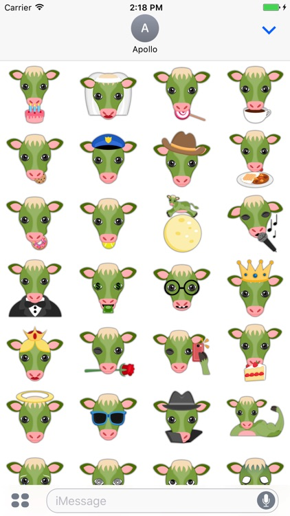 Saint Patrick Cow Lover Stickers screenshot-4