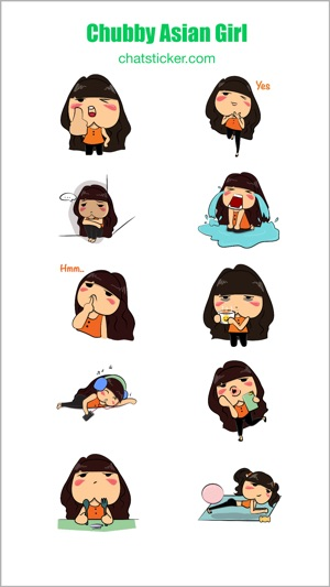 Chubby asian girls