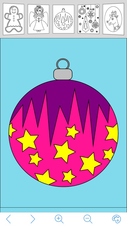 My Holiday Coloring Book Free screenshot-4