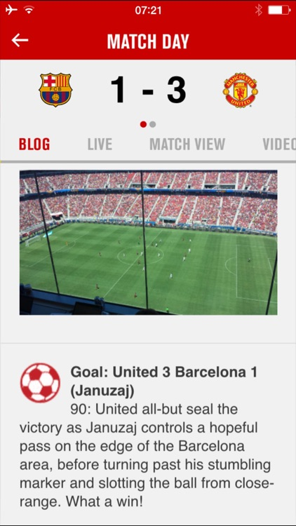 Manchester United screenshot-1