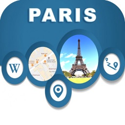 Paris France Offline City Maps with Navigation