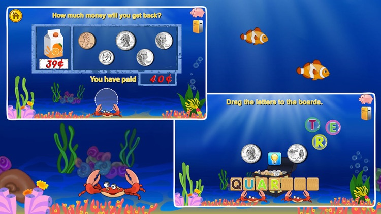 Amazing Coin(USD)-Money learning counting games screenshot-3