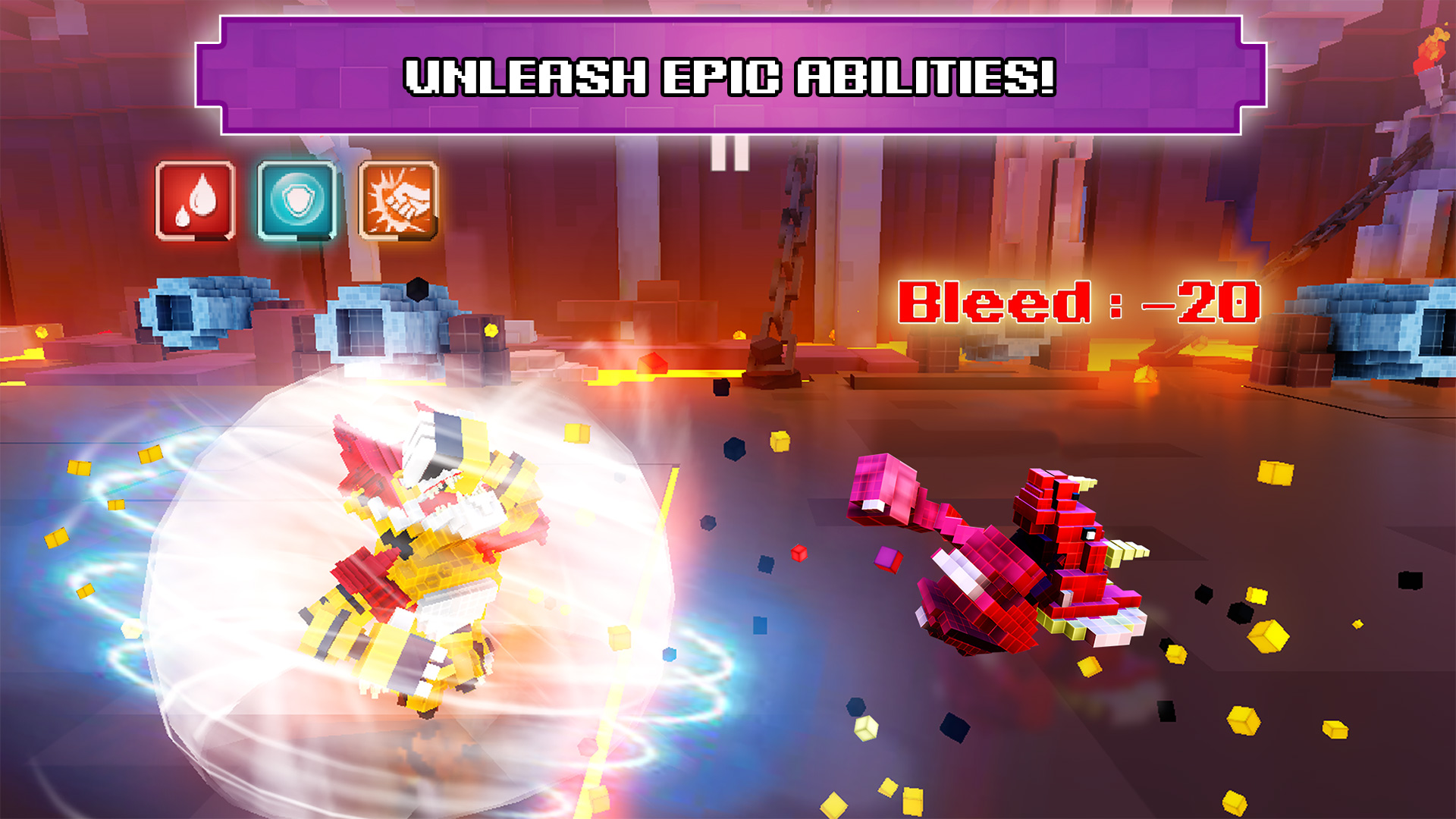 Super Pixel Heroes 2019 screenshot 14