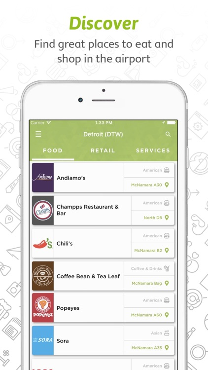 Grab: Order Airport Food