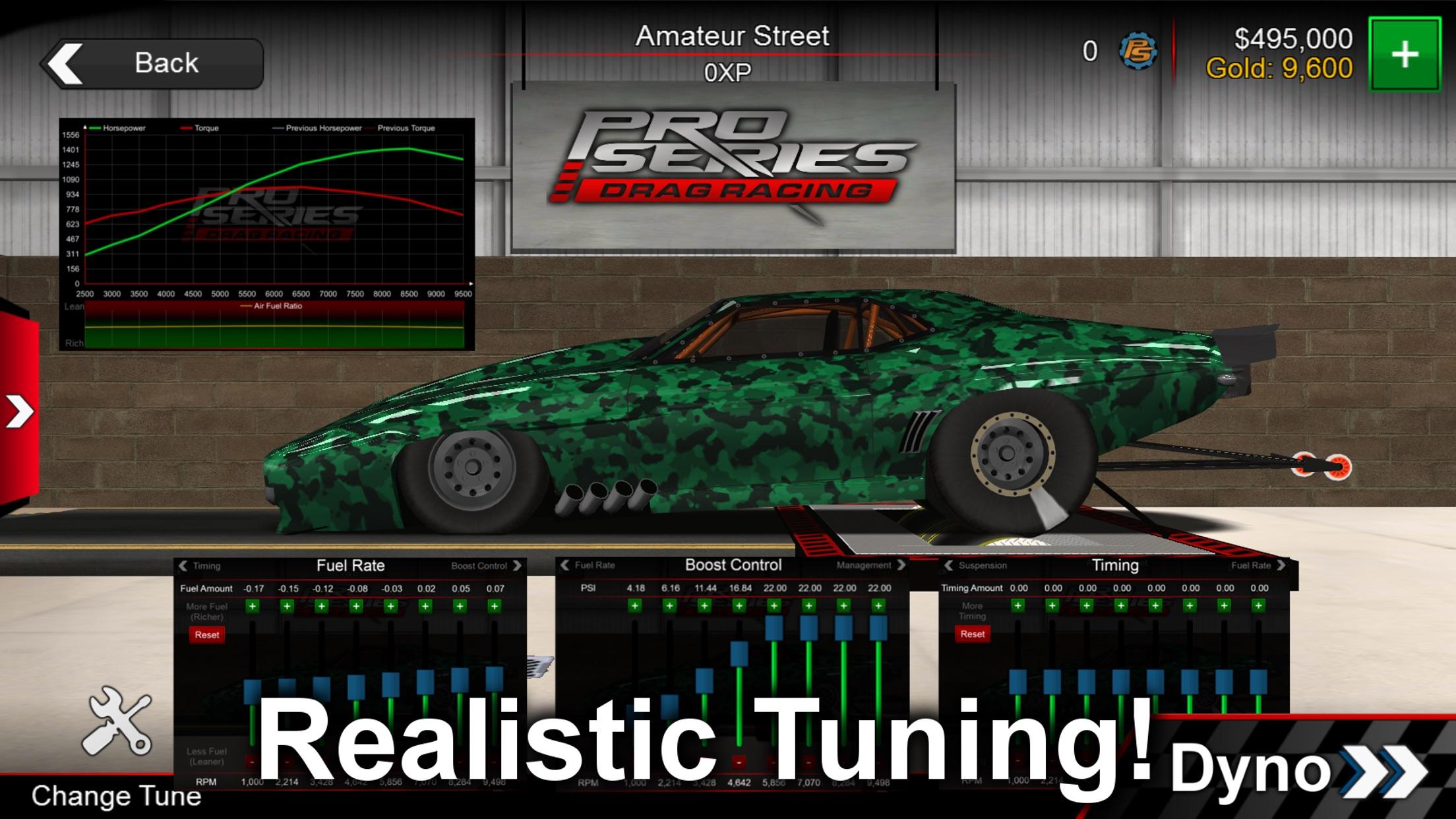 Pro Series Drag Racing Screenshot