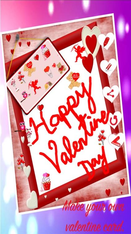 Happy Valentine's Day Card Maker 2017 - Love quote