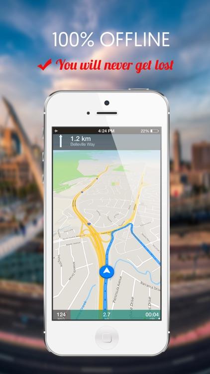 Georgia, USA : Offline GPS Navigation