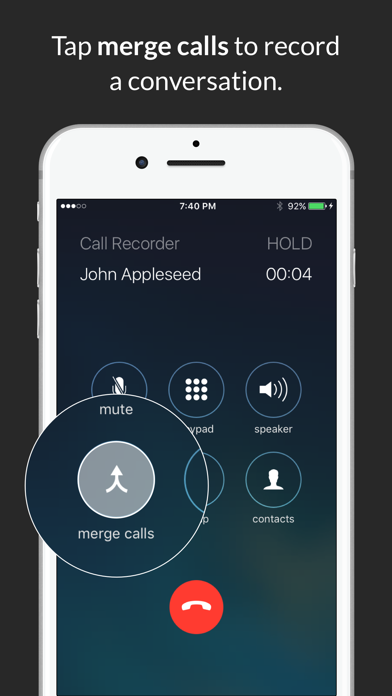 Call Recorder : Record Phone Calls screenshot two