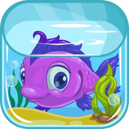 Fish Aquarium Puzzle Match 3 Game