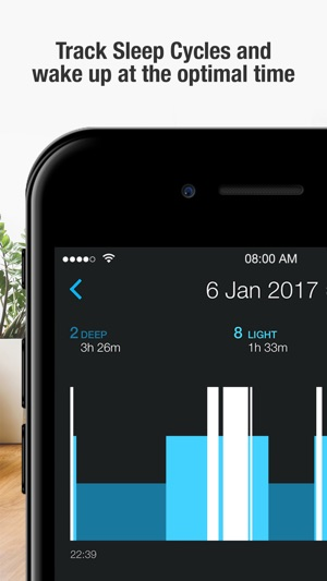 Smart Alarm Clock : sleep cycle & snoring recorder Screenshot