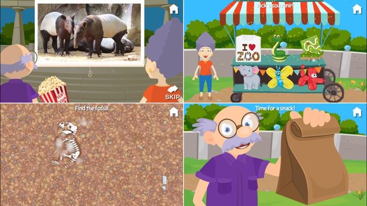At the Zoo With Grandma and Grandpa screenshot-3