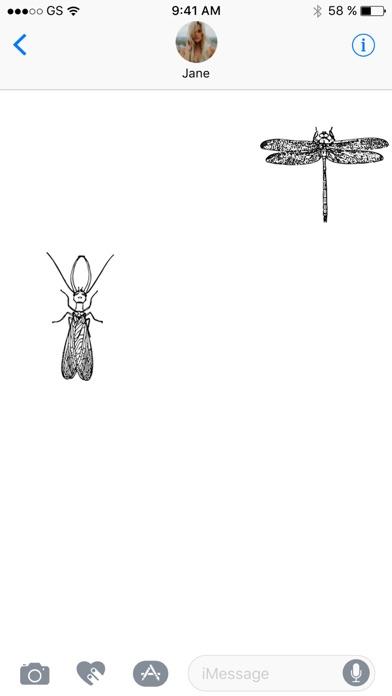 昆虫ステッカーパックのスクリーンショット2