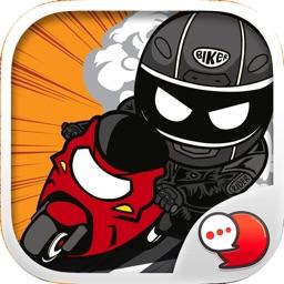 Freeman Rider Emoji Stickers for iMessage