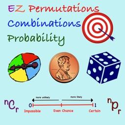 EZ Permutations Combinations & Probability