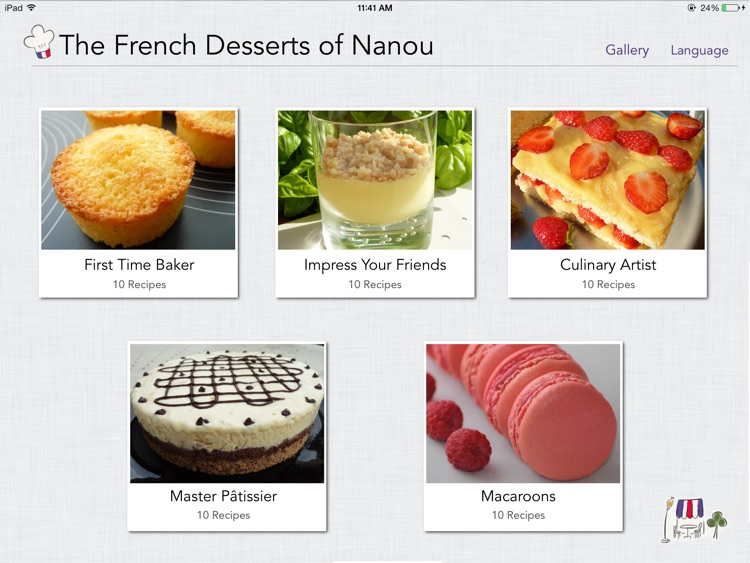 The French Desserts of Nanou