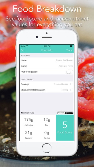 Food Score Calculator For Weight Loss Nutrition On The App Store