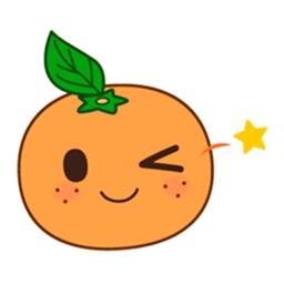 Orange Emoji Stickers