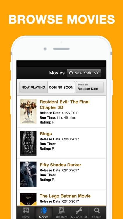 MovieTickets.com - Showtimes and Tickets screenshot-3