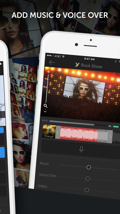 YouStar: Video Merge & Special Effects for Videos screenshot four