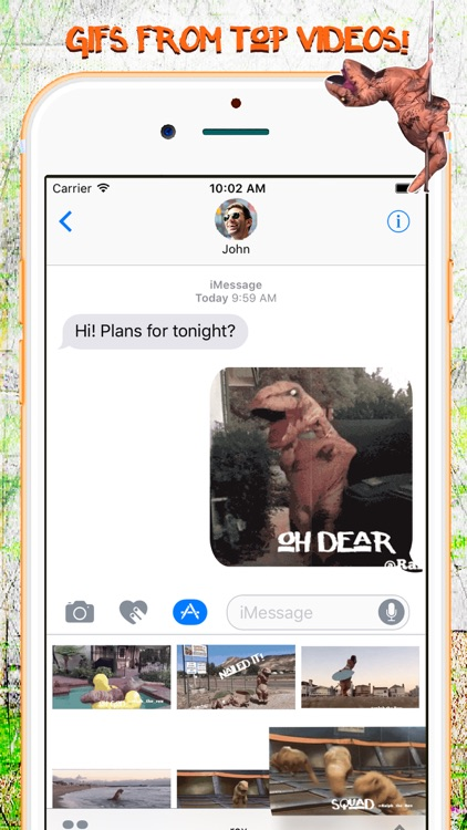 Ralph the Rex - Official Dino Emojis & Gifs screenshot-3