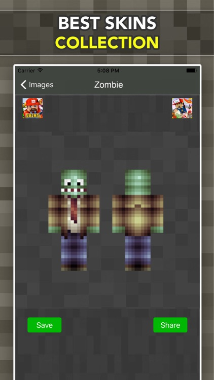 New Zombie Skins For Minecraft Pocket Edition screenshot-3