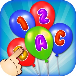 Balloon Pop For Kids - Learn ABC,numbers and Color