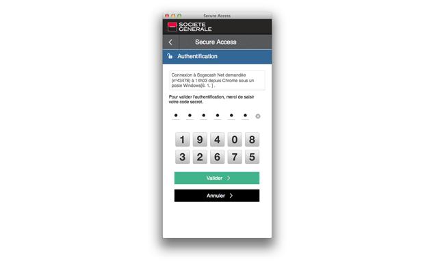 Secure Access Societe Generale Dans Le Mac App Store
