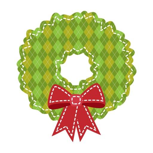 Christmas Wreath XMAS Tree Stickers