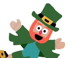 Five Little Leprechauns St. Patrick's Day Stickers