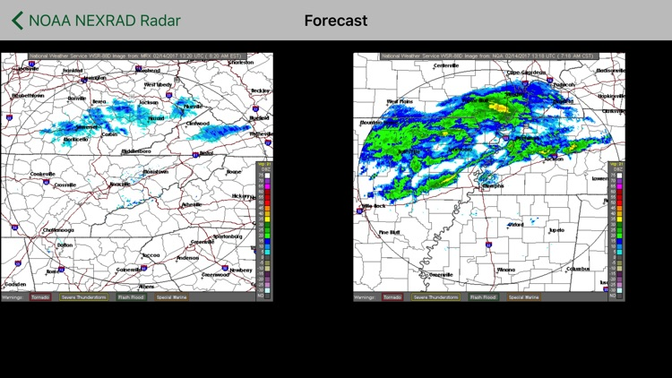 Instant NEXRAD NOAA Radar Pro screenshot-4