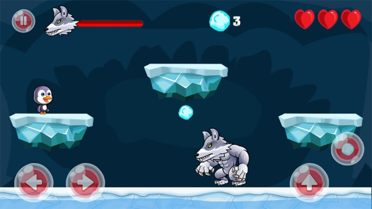 Super Penguin Run Snow Island Adventure Land