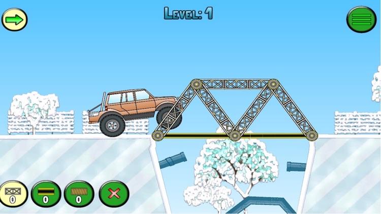 Frozen bridges free: bridge-construction simulator