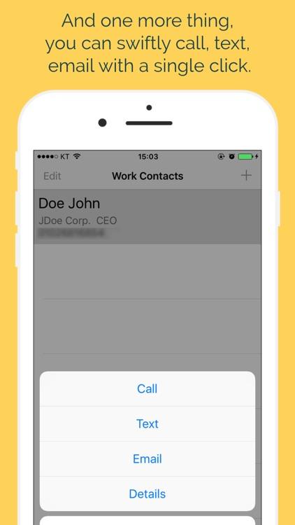 WorkContacts screenshot-3