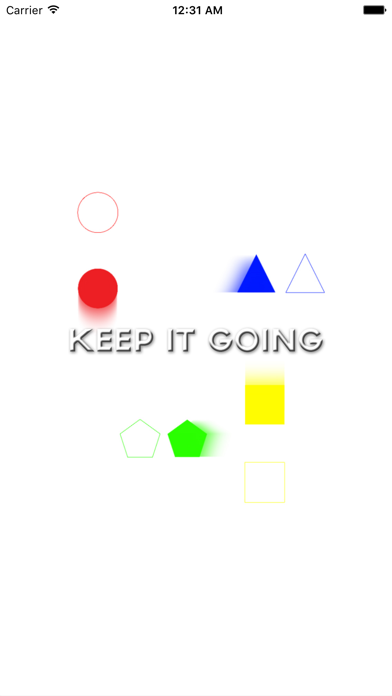 Keep It Going Game - Time The Shapes Game