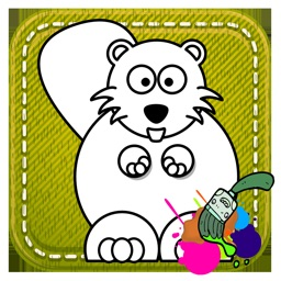 Tap Beavers Color Game For Toddle