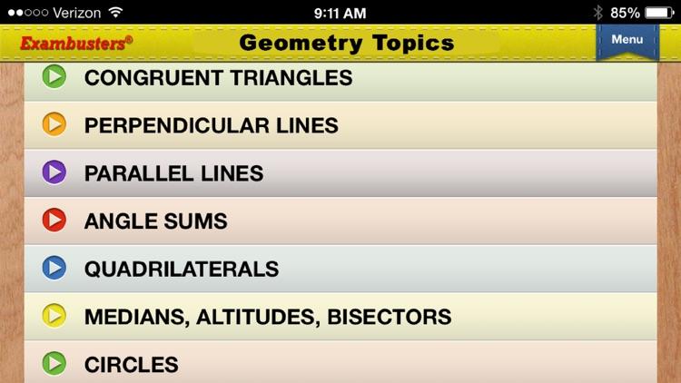 PSAT Prep Math Flashcards Exambusters screenshot-3