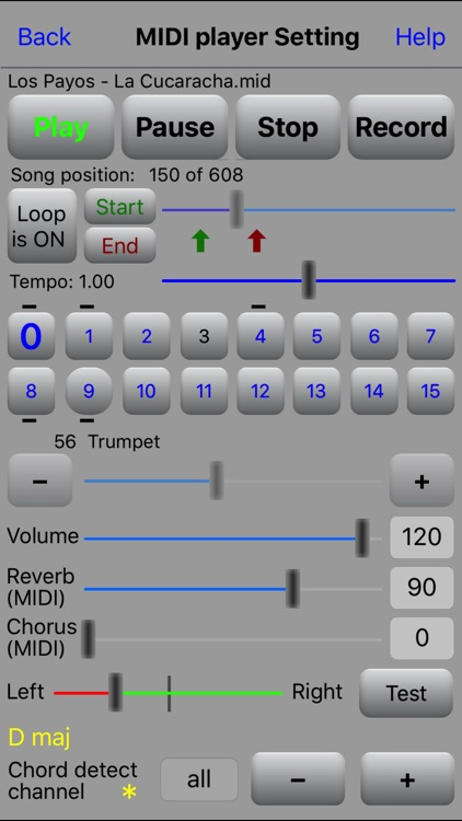 MIDI file player screenshot-1