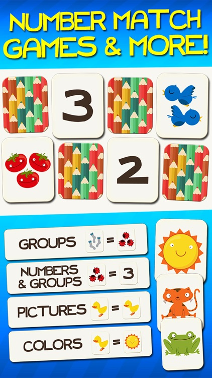 Number Games Match Game Free Games for Kids Math screenshot-0