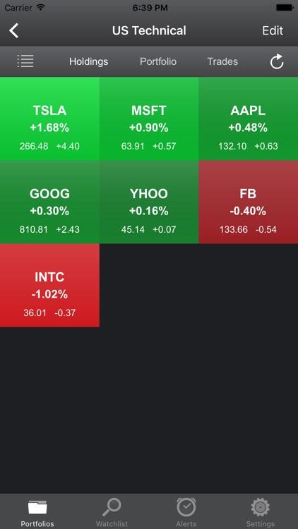 Portfolio Trader-Stock Tracker screenshot-4