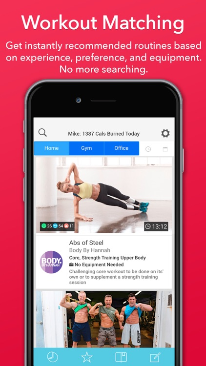 Updown Fitness - Gym & Home Personal Workout Coach screenshot-0