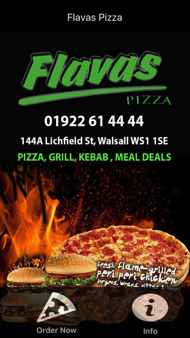 Flavas Pizza Walsall By Abdollah Mohammadian On The Appstore
