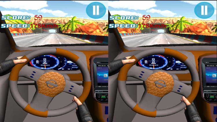 VR Race in Car : A Virtual Reality Racing Sim